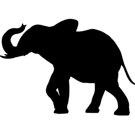 Softball Wall Stickers life size elephant silhouette wall decals safari animal