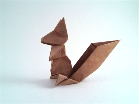 Origami Squirrel - origami squirrel origami maker easy