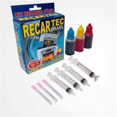 hp 22 2857 color kit de recarga cartucho de tinta ahorra en tinta kit cartuchos 21 22 kit preto kit color f4180 d2360