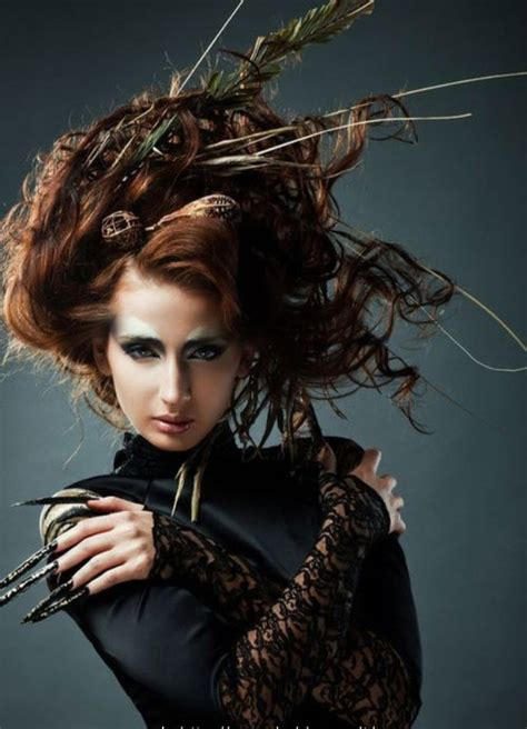 witch hair styles witch medusa costume idea couture hair pinterest