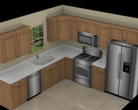 10x10 kitchen designs with island kitchen layouts picmia