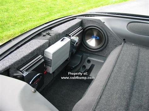 camaro custom sub box custom sub box and woofer for 93 02 camaro firebird
