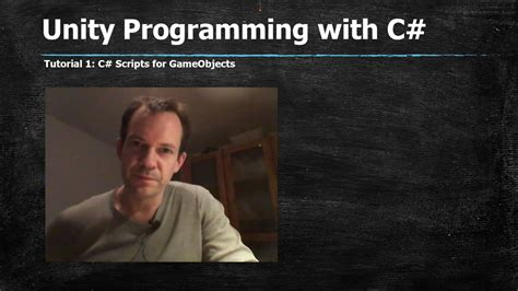 unity tutorial for programmers unity c programming tutorial for beginners gameobjects
