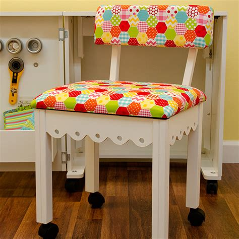 arrow cabinets sewing chair buy arrow white sewing chair arrow cabinets