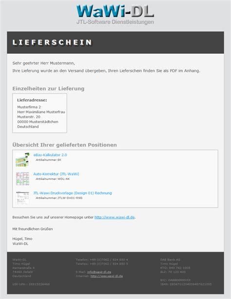Email Design Vorlagen Jtl Wawi Email Vorlagen Html Design 01 Wawi Dl 10 00