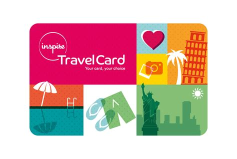 inspire travel card inspire - Gift Card For Travel