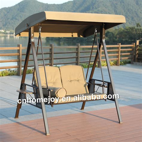swing seats for sale leisure double seat swing metal patio swing chair for sale