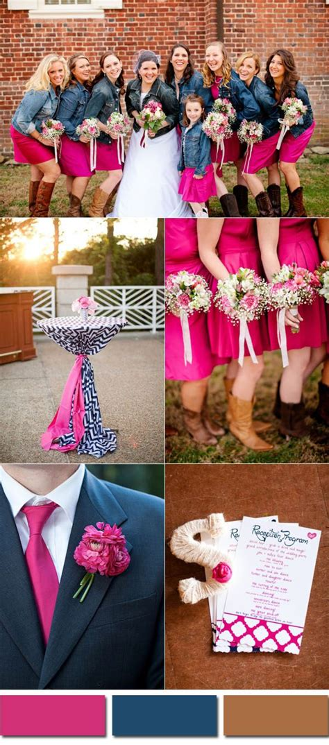 blue wedding colors wedding colors trends for 2017 pink yarrow color
