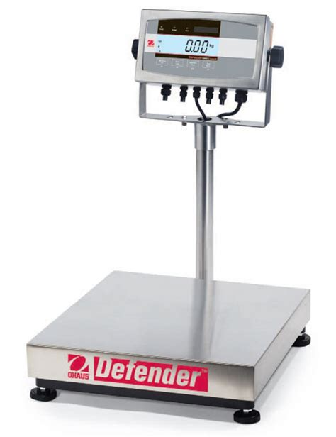ohaus bench scale ohaus defender stainless steel bench scale