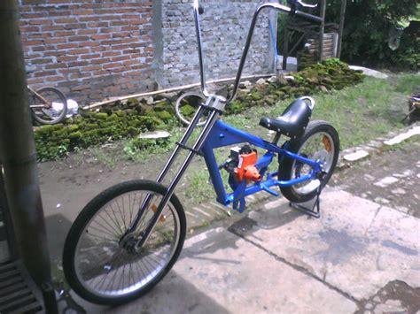 Mesin Potong Rumput Tiger sepeda mesin potong rumput sepeda mesin fanderle motor