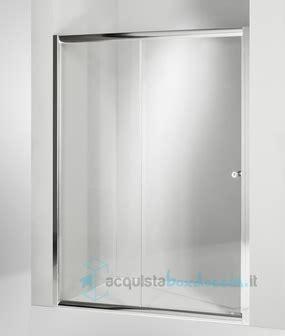 porta doccia scorrevole prezzi porta doccia scorrevole 115 cm trasparente