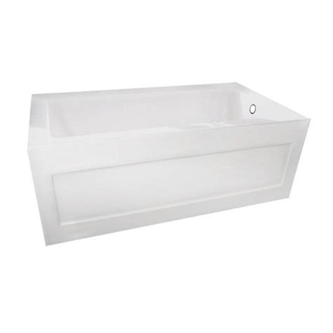 54 inch bathtub home depot valley quad 54 x 30 inch skirted bathtub right hand drain the home depot canada
