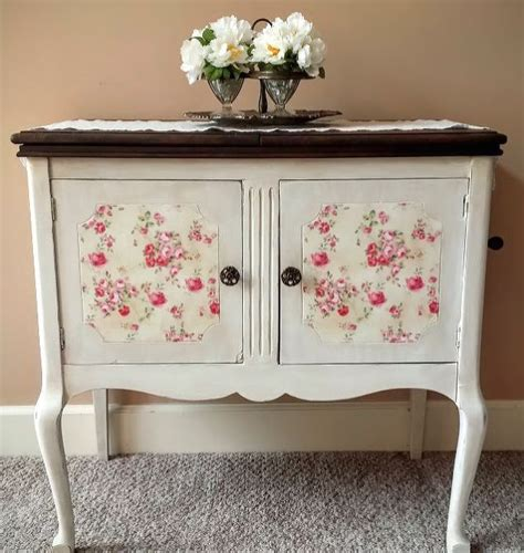 best furniture paint shabby chic phonograph makeover april s fab furniture flippin contest hometalk