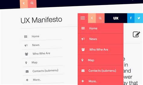 layout parallax bootstrap tutorial bootstrap parallax creare un sidebar menu