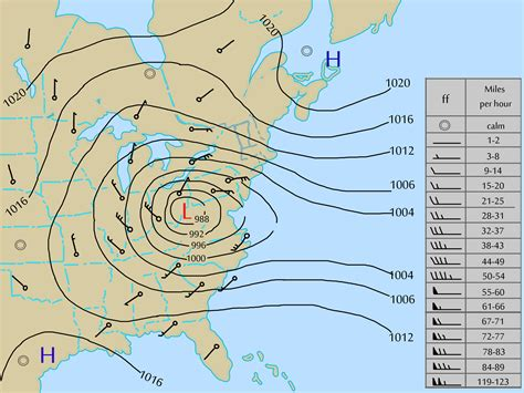 Step Weather A Day how to tell wind direction on a weather map f f info 2017