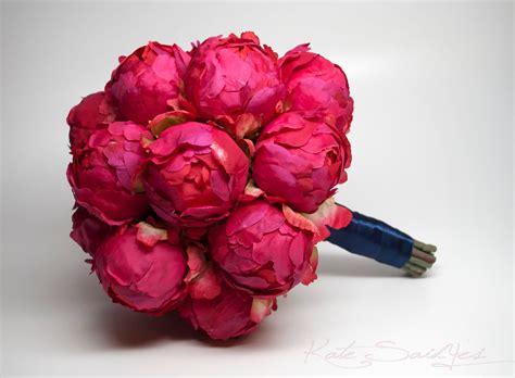peonies bouquet fuchsia peony wedding bouquet fuchsia pink peony bouquet