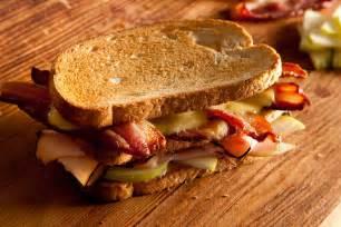 triple pork club sandwich the most delicious sandwiches