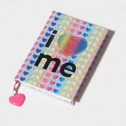My Items From Claires 4 by Rainbow Glitter Hearts I Me Journal At S Or