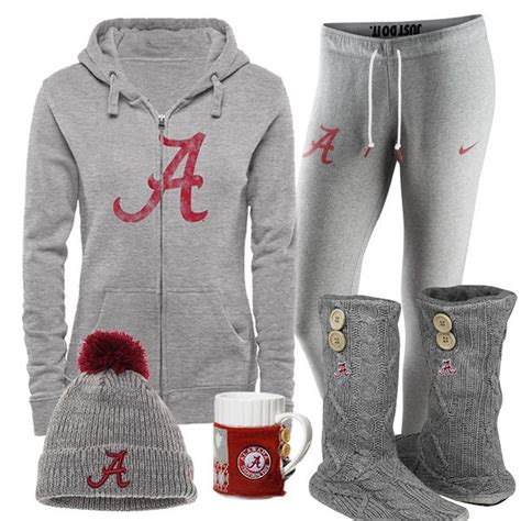 alabama crimson tide fan gear 319 best sports fan fashion images on fan