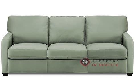 Customize And Personalize Westside Queen Leather Sofa By Palliser Sleeper Sofa