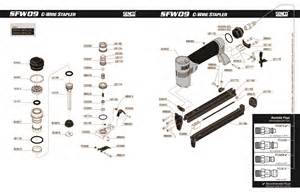 senco sfw09 nailer parts senco parts