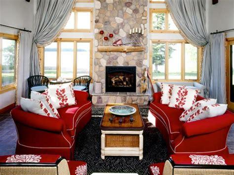 what colors go with a red couch une d 233 co de salon avec du temp 233 rament chaud en rouge