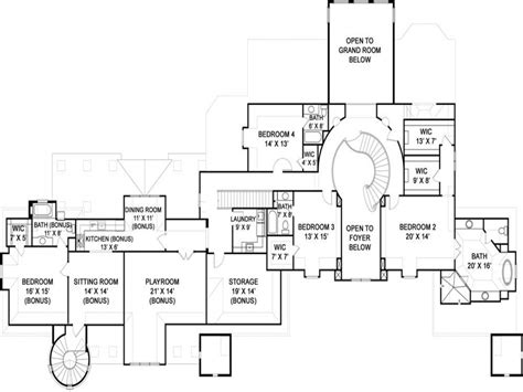 Castle Style Floor Plans | castle style house floor plans modern castle homes castle