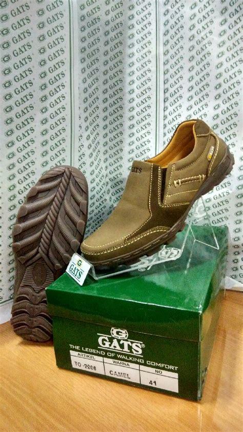 Sepatu Gats Indonesia jual sepatu merk gats ori pria santai kulit branded slip
