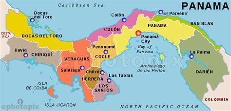map usa panama panama states map