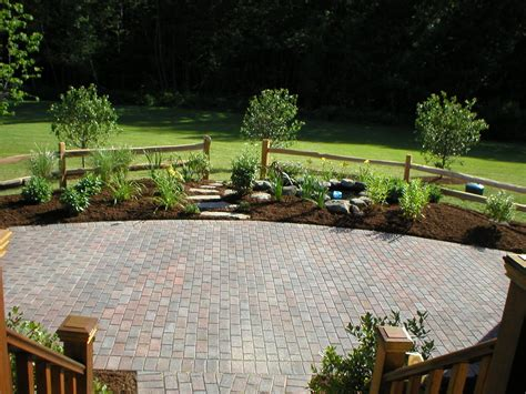 Popular Home Interior Decoration Patio Designs Using Pavers