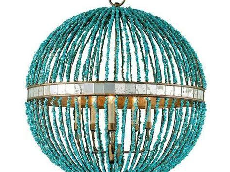 turquoise beaded chandelier light fixture home design ideas