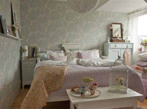 tapeten landhausstil schlafzimmer nordisch einrichten die neuesten innenarchitekturideen