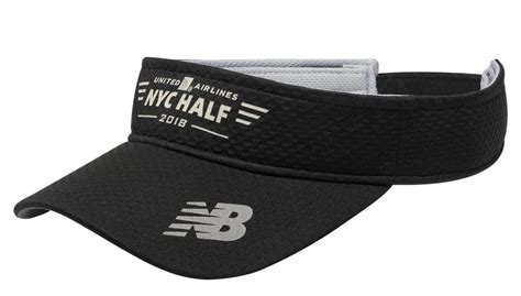 New Balance Performance Visor united airlines nyc half performance visor unisex 500364