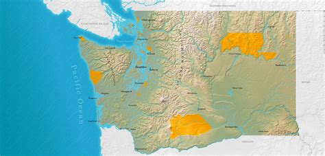 american reservations map tribes map washington tribes