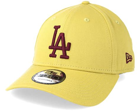 los angeles dodgers league essential 940 yellow adjustable