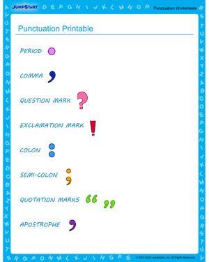 Comma Quiz Printable