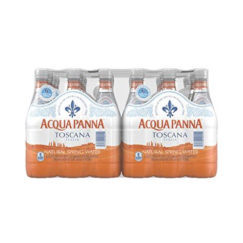 how much is a 24 pack of natural light acqua panna natural spring water 16 9 ounce pack of 24
