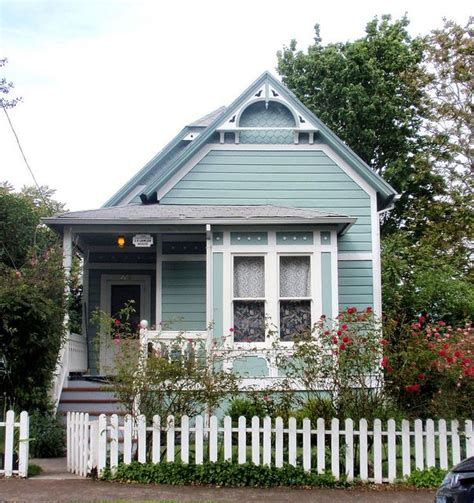 tiny victorian house blue aqua victorian cottage j f lawler historic home