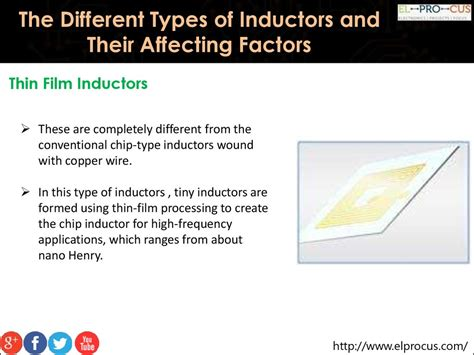 different types of inductors ppt classification of inductors ppt 28 images capacitors and inductors ppt 28 images inductance