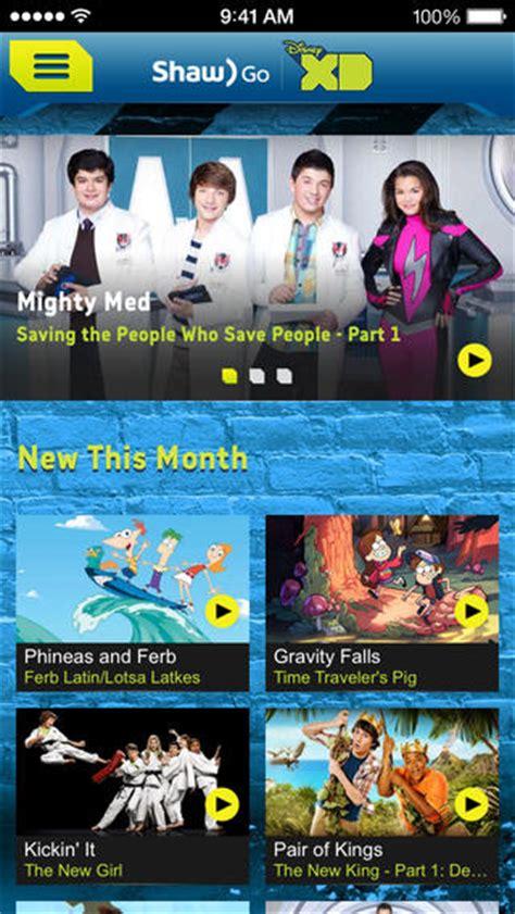 shaw  launches   ios apps family disney xd disney junior iphone  canada blog