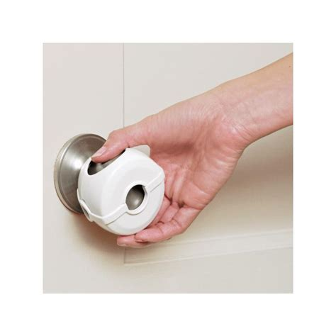 Child Proof Door Knob Covers by Munchkin Door Knob Covers