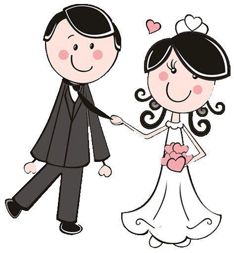 sposi clipart dibujos clipart digi sts wedding novios boda