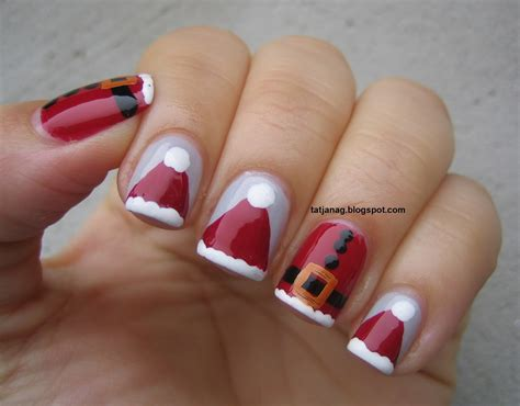easy nail art for xmas festive nail art ideas for the holiday season stylewe blog
