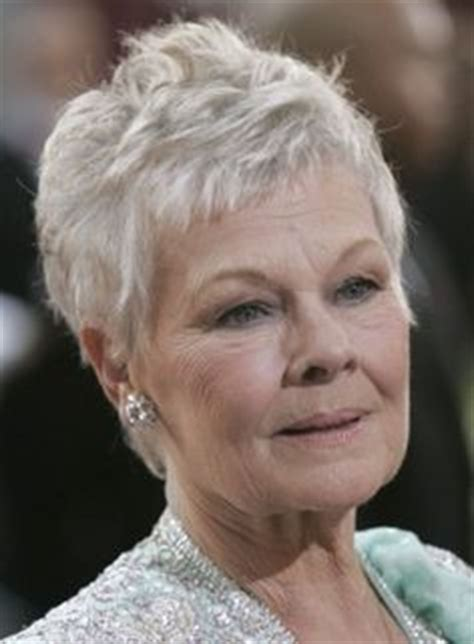 judi dench haircut back of head judi dench hairstyle front and back head short short