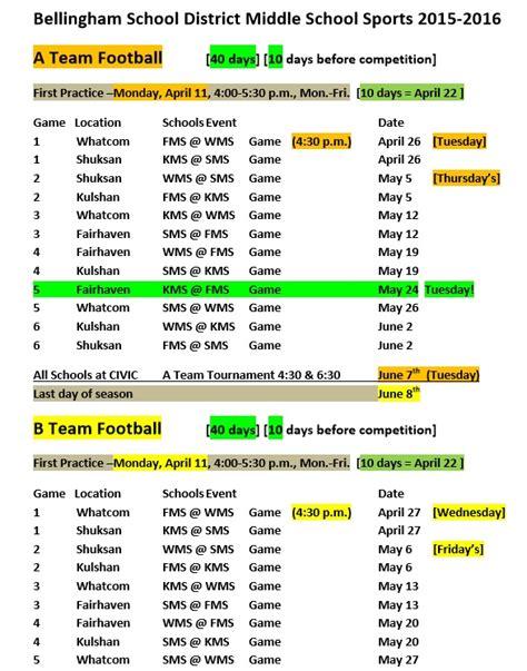 football calendar template sports schedule template 9 free templates schedule