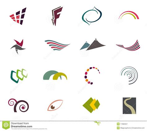 free logo templates vector vector logo elements royalty free stock photography