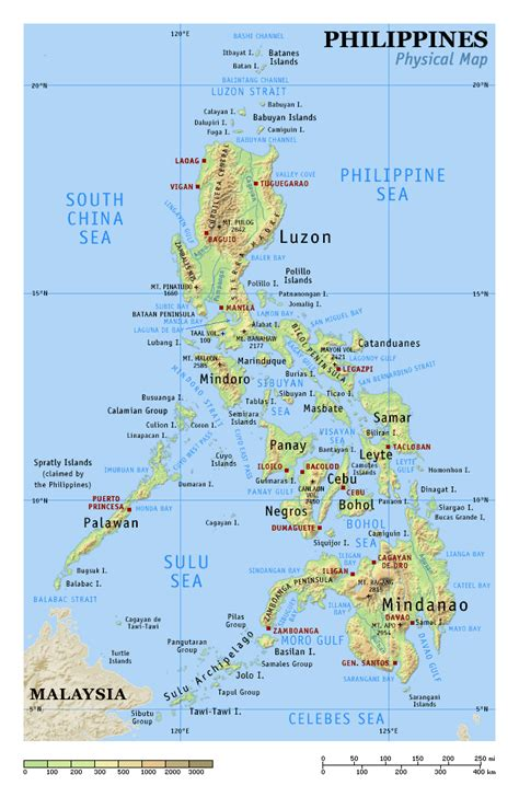 map of phillipines map of phillipines my