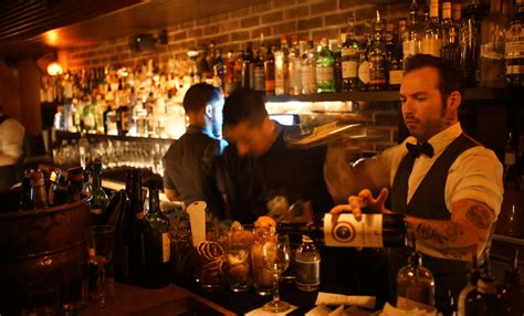 bathtub bar nyc a speakeasy bar in new york named bathtub gin behind the