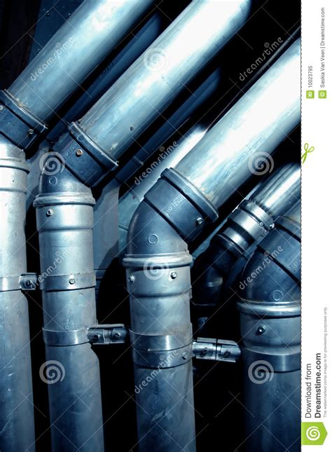 Pipe Interior by Interior Building Pipes Royalty Free Stock Photo Image