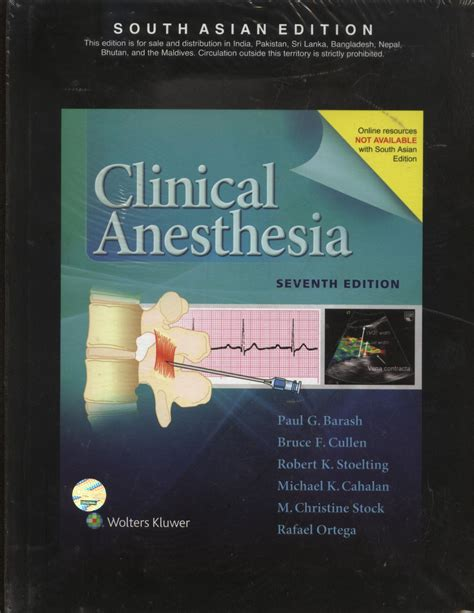 surgical anaesthesia classic reprint books barash clinical anesthesia s a e ed 7th aditya